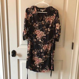 Long or short sleeved dress.